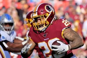 Washington releases RB Guice after domestic violence arrest