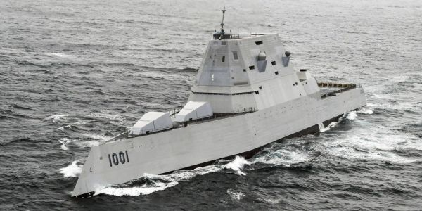 The US Navy wants to arm each Zumwalt stealth destroyer with up to a dozen hypersonic missiles