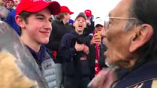 New Video Complicates Uproar Over Incident Between Student And Native American Man