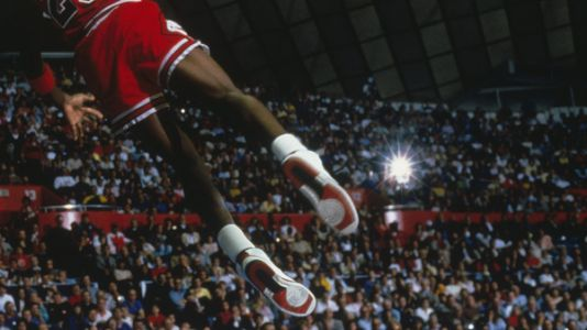 The shoes from Michael Jordan's rookie season sold for a record $1.47 million