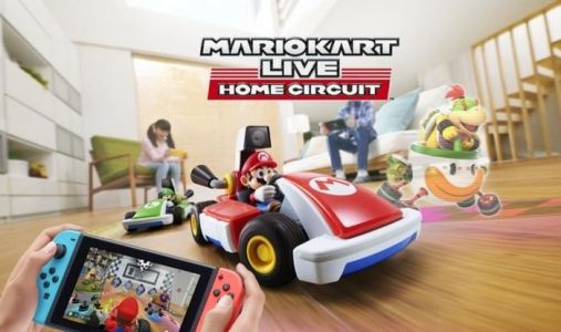 Mario Kart Live: Home Circuit - Drive a remote control kart with the Switch