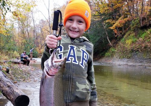 Fishing Report: Steelhead moving on Lake Erie: crappies fattening for winter