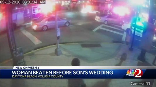 Woman in Daytona Beach for son's wedding in coma after being attacked during fight, police say
