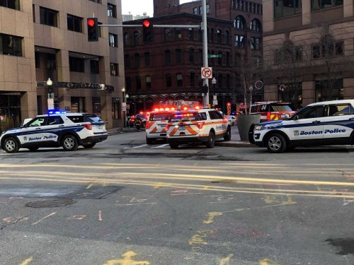 Technical rescue underway after 2 people struck by truck in Financial District