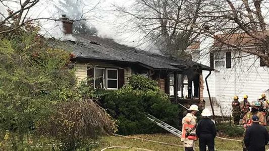 Senior citizen suffers life-threatening injuries in Catonsville house fire