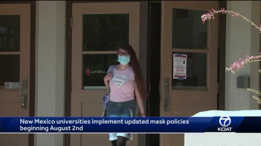 College campuses go back to masking up