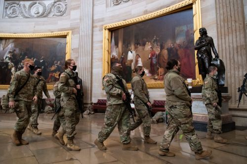 The National Guard is doing background checks on its own soldiers to shore up security during the inauguration