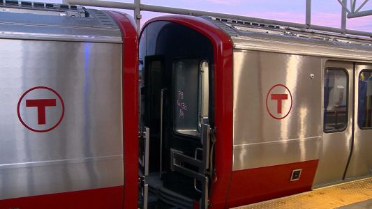 First new MBTA Red Line train taken on test drive