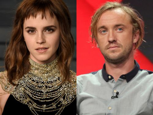 Emma Watson and Tom Felton have been good friends ever since 'Harry Potter.' Here are their cutest moments together