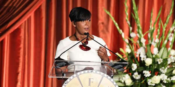 Atlanta Mayor Keisha Lance Bottoms announces she won't run for a second term