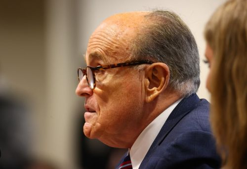 Dominion Voting System sues Giuliani over election claims