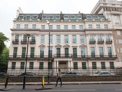 A Hong Kong billionaire paid $276 million for London's most expensive home last year. Now, he plans to spend another $277 million renovating it