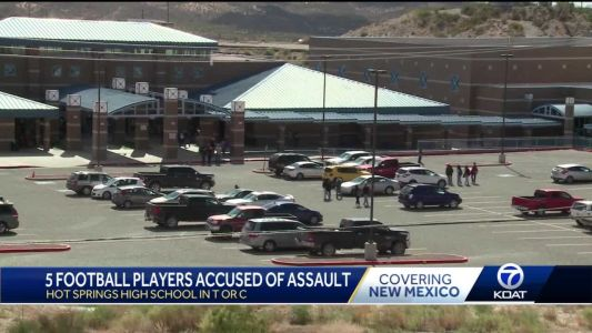 5 football players in Truth of Consequences accused of assault, remainder of football season canceled