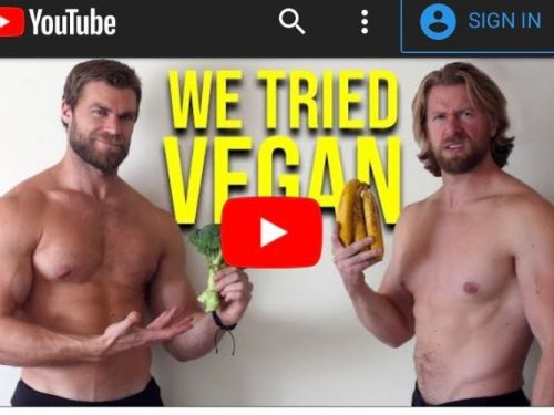 2 bodybuilders went vegan for a month and found the biggest downside was the gas