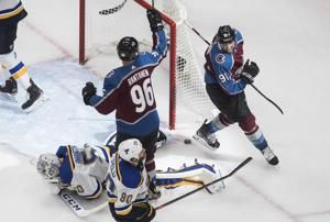 Kadri scores buzzer-beating goal as Avalanche beat Blues