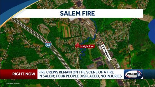 Fire in Salem leaves four displaced, no injuries reported