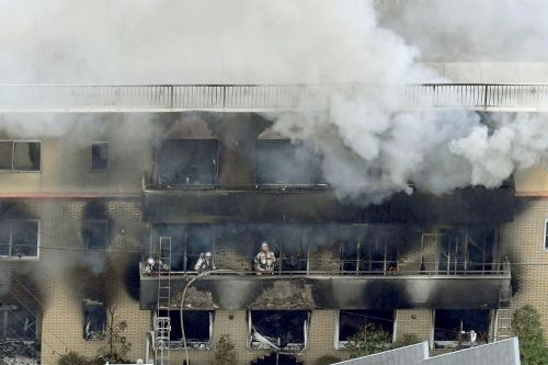 At least a dozen presumed dead in suspected arson at Japanese anime studio