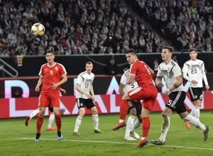 Germany salvages 1-1 draw with Serbia in friendly