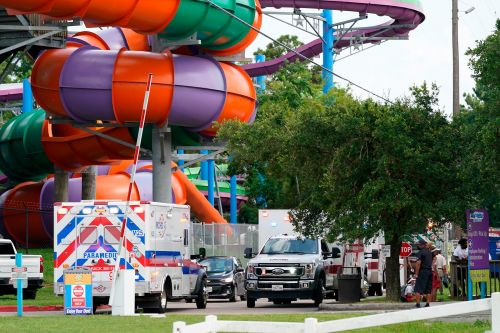 Dozens of parkgoers hospitalized after chemical leak at Texas Six Flags
