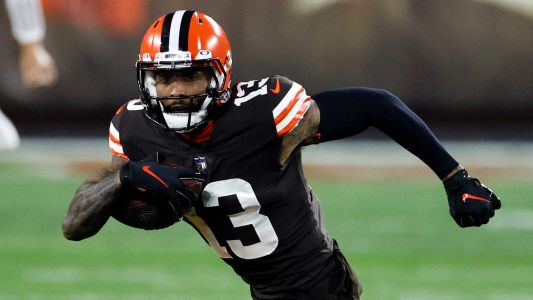 Browns WR Odell Beckham Jr. tests negative for COVID after being sent home ill