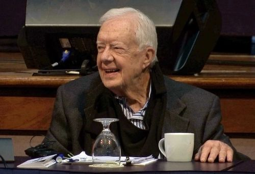 Former President Jimmy Carter hospitalized in Atlanta