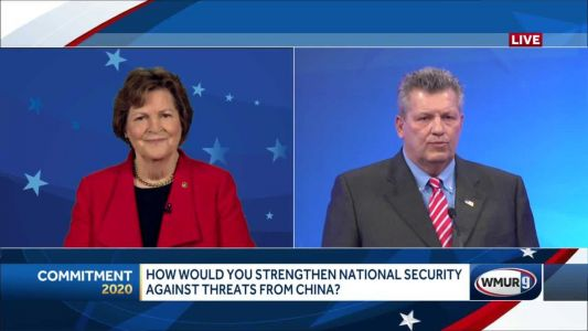 2020 NH U.S. Senate debate: Strengthening national security against threats from China
