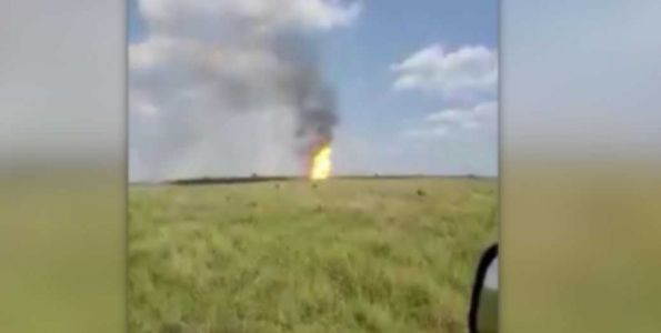 No one hurt in natural gas pipeline explosion in Kansas