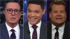 Late Night Hosts Rip Democratic Debate's All-White Stage: Thought Oscars Was Next Month?