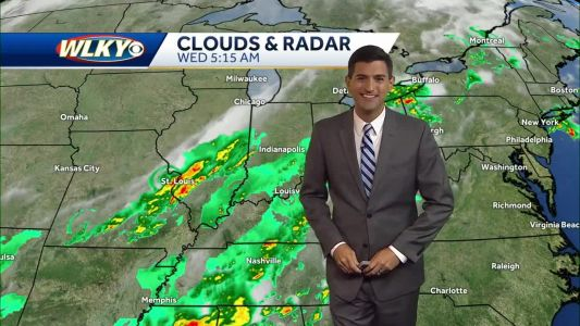 Morning Showers, Drier Afternoon Wednesday