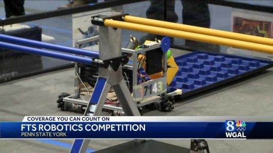 Robots face off in student competition