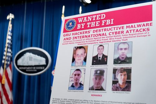 U.S. charges Russian hackers with sweeping campaign of cyberattacks