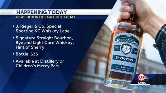 J. Rieger & Co. teams up with Sporting KC for special whiskey label