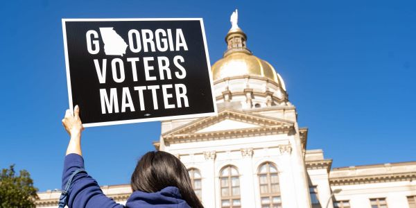 The ACLU, NAACP, and the Southern Poverty Law Center are suing Georgia over its new voting law