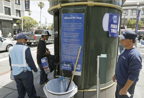 San Francisco's 24-hour public toilets cost the city nearly $30 per flush. Officials want to add more