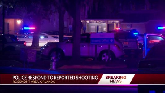 Police respond to reported shooting in Rosemont area of Orlando