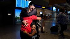 Mom And Daughter Tearfully Reunite At U.S. Border After 6 Years Apart