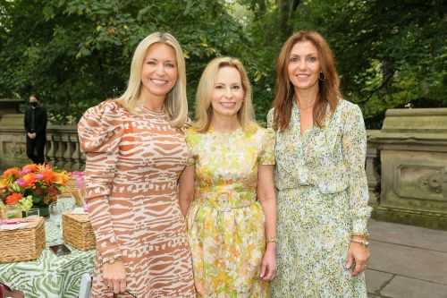 Socialites gather to raise money at Central Park luncheon