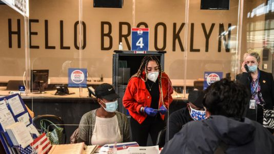 On Poll Workers, Many Election Officials Breathe Sigh Of Relief