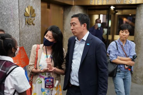 Animals rights group uses Andrew Yang's wife words in ad attacking candidate