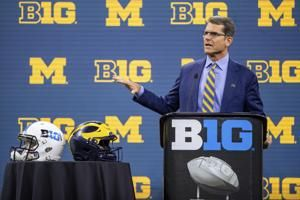 Harbaugh, Frost resolute about resurrecting programs