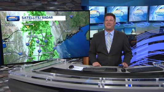 Watch: Rain could be heavy at times