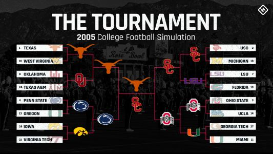 Replaying the 2006 Rose Bowl on 'NCAA Football 06': A classic finish to SN's 'The Tournament'