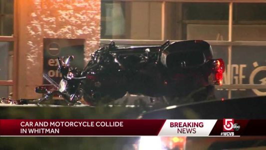 Car, motorcycle collide in Whitman