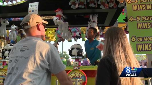 First night of the York State Fair brings back excited crowds