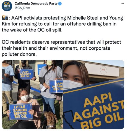ICYMI - AAPI Voters to Michelle Steel & Young Kim: Stop Putting Corporate Donors Ahead of Our Communities