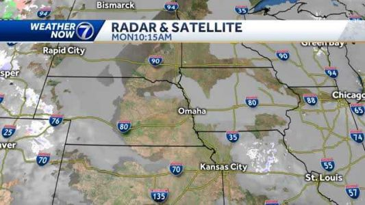 Low clouds persist Monday, very light snow late Tuesday