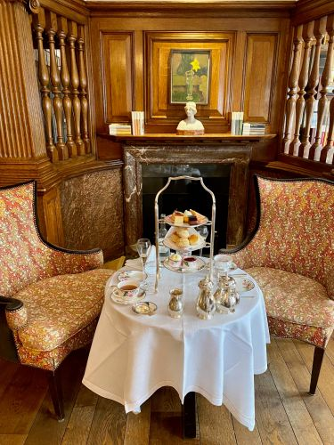 I had the poshest afternoon tea at London's oldest hotel. Here's what it was like, and how the very English tradition has changed post-COVID