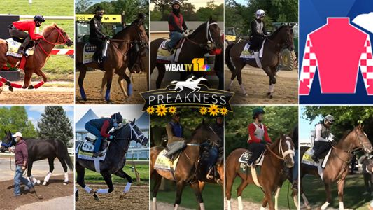 See the horses racing in the 146th Preakness Stakes