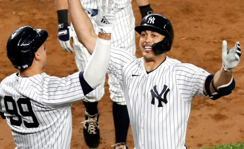 Giancarlo Stanton powers Yankees to another win over Astros