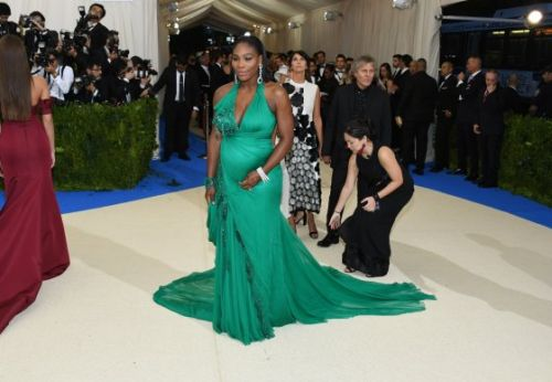 Serena Williams Showed Up to the 2019 Met Gala Looking Like a Vision in a Stunning Gown and Matching Sneakers
